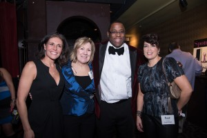 Jill Hayes. co-chair; Deirdre Houtmeyers,  Tito Jackson, City-Councilor; and Evelyn Knight, co-chair.